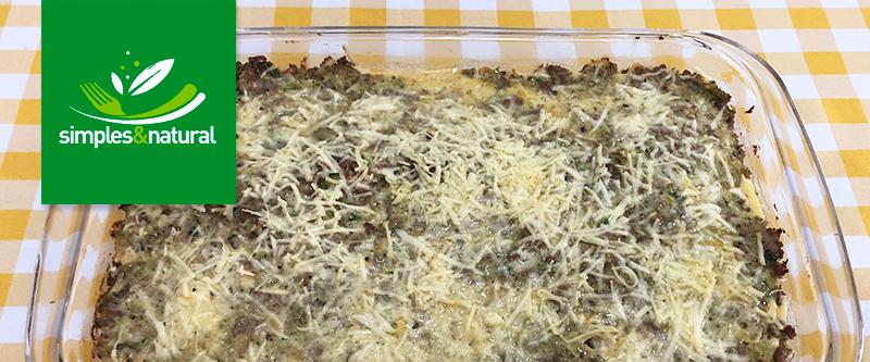 Torta de Brócolis com Carne Moída | Simples & Natural - Endocard