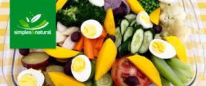 Salada de Legumes - Primavera| Simples & Natural